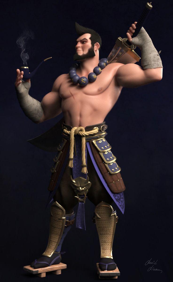 Warrior, David Diaz on ArtStation at https://www.artstation.com/artwork/QN0Y4