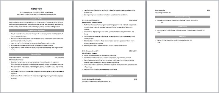 Sample Usar Unit Administrator Resume tibco sample resumes tibco