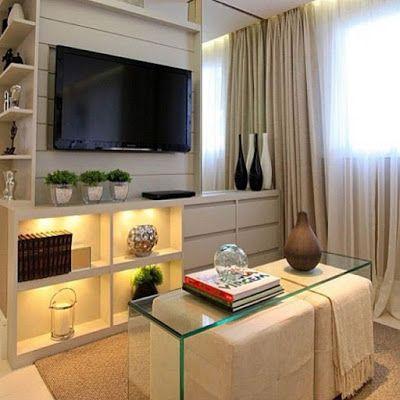 DICAS PARA DECORAÇÃO DE SALA DE ESTAR: LINDAS EM TODOS OS TAMANHOS.  Interior DecoratingDecorating IdeasDecor ... Part 95