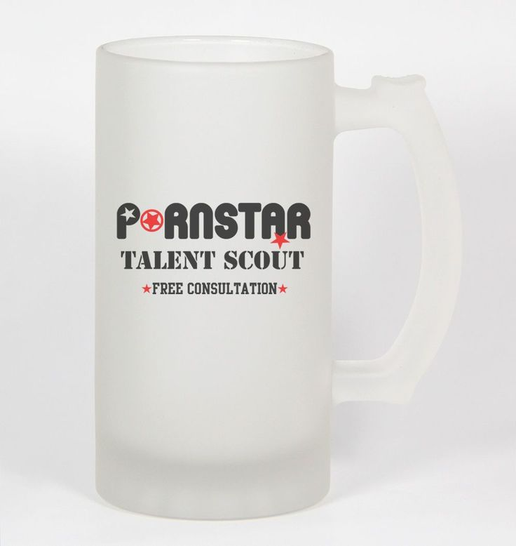 Pornstar Talent Scout #252 - Funny 16Oz Frosted Beer Stein Drunk Humor Funny