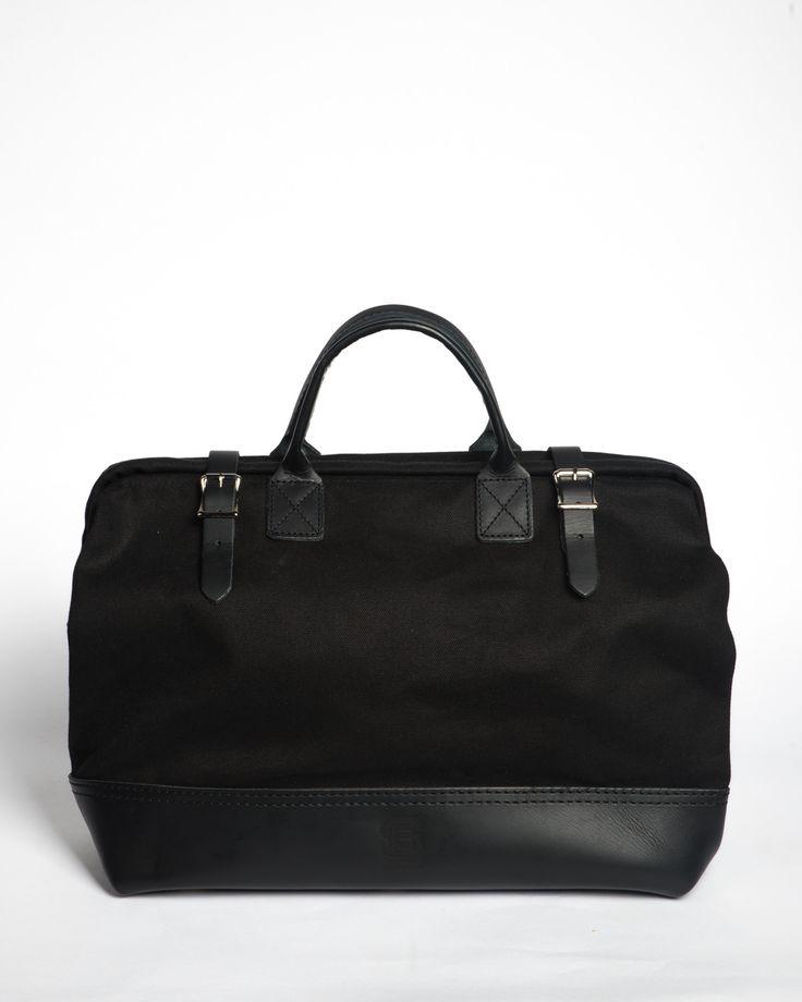 "Hand-Eye 16"" Canvas Tool Bag Black"