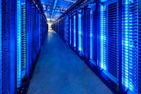 For Prineville, Facebook is a big business operation – a fact reflected in the power required to operate the first phase of the data center. The 28 megawatts of utility power for the 300,000 square foot first phase isn't extraordinary for a data center of that size. But it stands out in Crook County, where all the homes and business other than Facebook use 30 megawatts of power.    Side note: Population: 9,192 (2011)