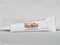 Use ThinNail® for healthy looking nails. ThinNail® is a patented topical for treating thick, discolored nails.     •Penetrates the nail to make thick nails thinner and remove nail discolorations (thins thick nails and clears nail discolorations).    •Improves nail appearance.   •Contains calcium which is essential for healthy nails.   •Many people see actual changes in the nails in just days.    •Only patented product for thinning thick nails.    $20.99/tube