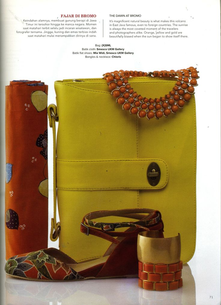 (X)S.M.L Yellow Bag is appeared on Mahligai - November 2013