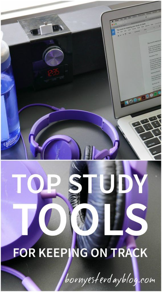 Top study tools for keeping on track