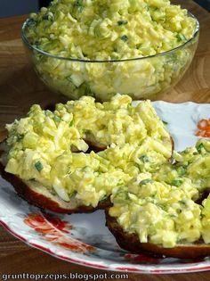 Lekka, dietetyczna, wiosenna pasta - wyśmienita do domowego pieczywa!