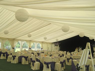 Quality marquees for large weddings and other events from Richardson Marquees. #marqueehire #malmesbury #marquee