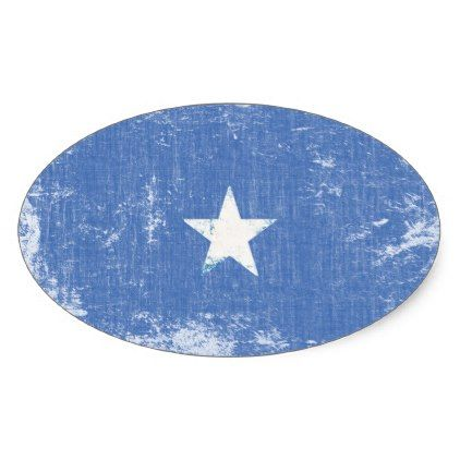 Somalia Flag Stickers - craft supplies diy custom design supply special