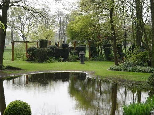 1000 ideas about large backyard landscaping on pinterest for Landscape garden pond design