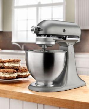 KitchenAid KSM75SL 4.5 Qt. Classic Plus Stand Mixer - Silver