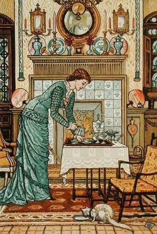 Walter Crane - In My Lady's Chamber