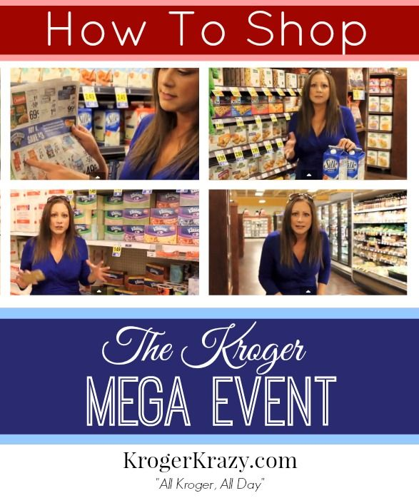 Attention KROGER SHOPPERS! Mega Sale Confused? Here is a Quick and Easy Kroger Mega Event GUIDE with video #Kroger