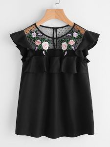 Sharing my favorite items from Make Me Chic like this embroidered black blouse.  http://kathrineeldridge.com/make-me-chic-wishlist/
