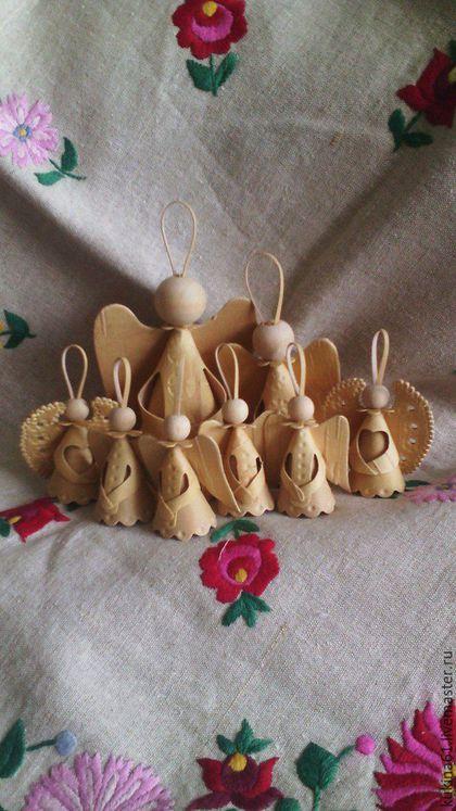 Купить АНГЕЛ - рождество, именины, подарки на новый год, бежевый, Новый Год, Пасха, Крестины
