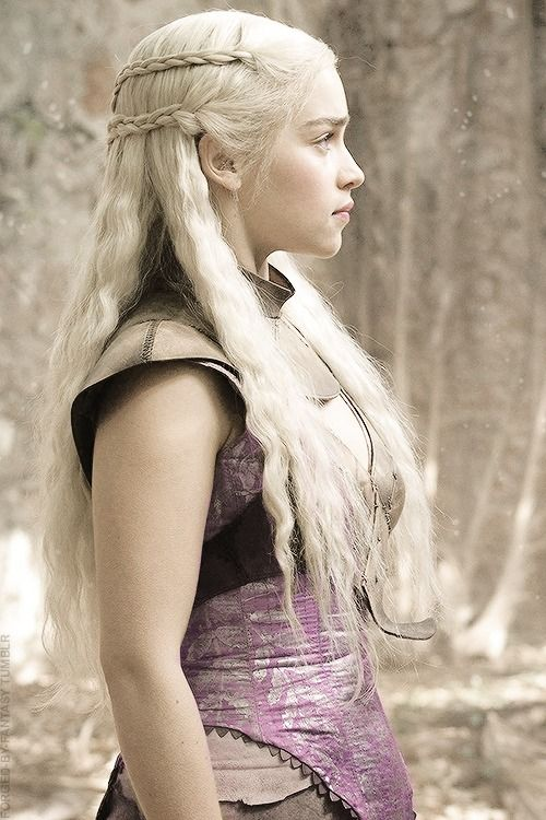 Daenerys Targaryen…...Harry's favourite character from Game of Thrones...