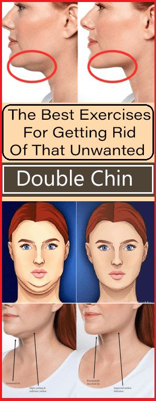 The Best Exercises For Getting Rid Of That Unwanted Double Chin