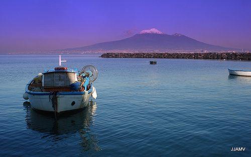 Bay of Naples and Vesuvio/Vesuvius