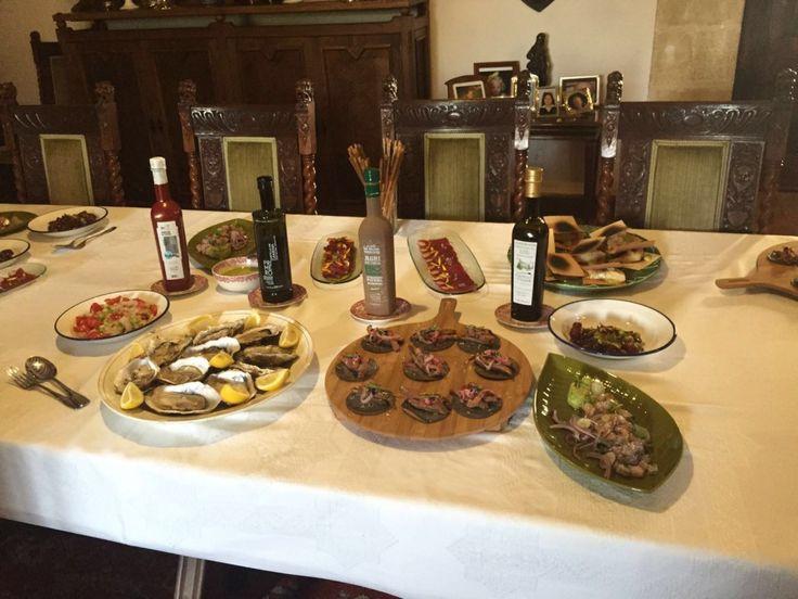 ¡La cocina japonesa y española se fusionan en el castillo de Canena! Gracias a los chefs Matsuse de Hotel Granvia Kioto y Marcos Castillo de la Taberna Miscelanea de Jaén, Baeza.