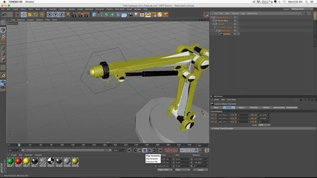 Super quick tip on creating some awesome camera animations in a couple of clicks. A great tip for people starting out. Just a good technique to keep in the back of your mind for when the right time comes! You can get the two robot arm models for free by signing up for our newsletter here: http://thepixellab.us2.list-manage.com/subscribe?u=4bd008e0584de910b31b59bb5&id=d5166e188d