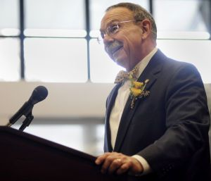 A&M President R. Bowen Loftin introduced as Missouri's new chancellor (look how cute he is in his yellow Bowtie I'm going to miss him) @Carla Scott Jones- Local News - The Eagle