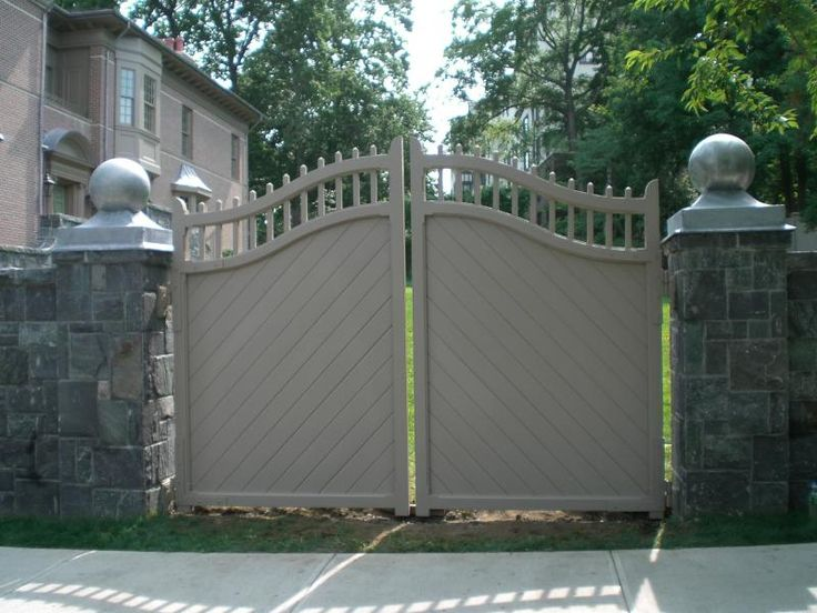 33 best images about for my fence on pinterest the for Wall gate design homes