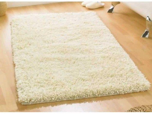 Tappeto+bianco - Tappeto+rettangolare+di+lana.