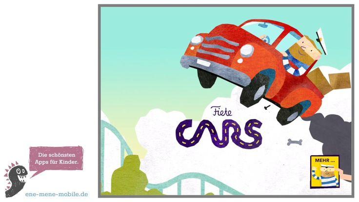 Auto Spiele App für Kinder 🚕 Fiete Cars 🚕 App-Vorschau & Gameplay