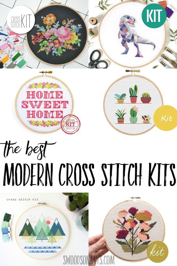 The Best Modern Cross Stitch Kits Craft Ideas Pinterest Cross