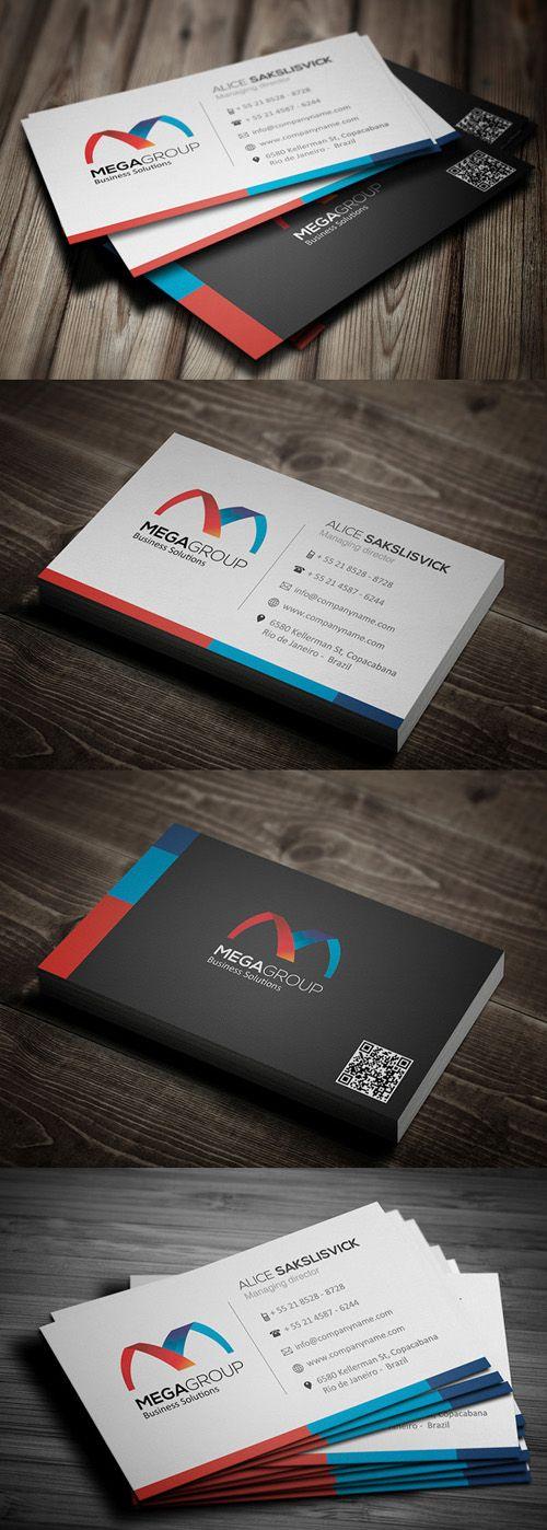 Corporate Business Cards Design