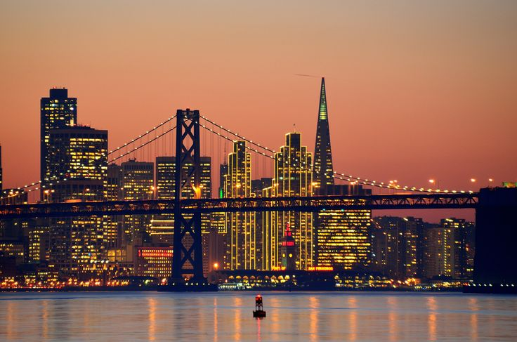 """ San Francisco Skyline by Wade Bryant "" - San Francisco Feelings"