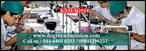 #KAIET 2014 #Medical Entrance. For Further details about Medical Admission, Entrance call us : 044-6460 6333 / 09841296333  http://www.degreeadmission.com/blog/KAIET-2014-Medical-Entrance-Exam-in-May/