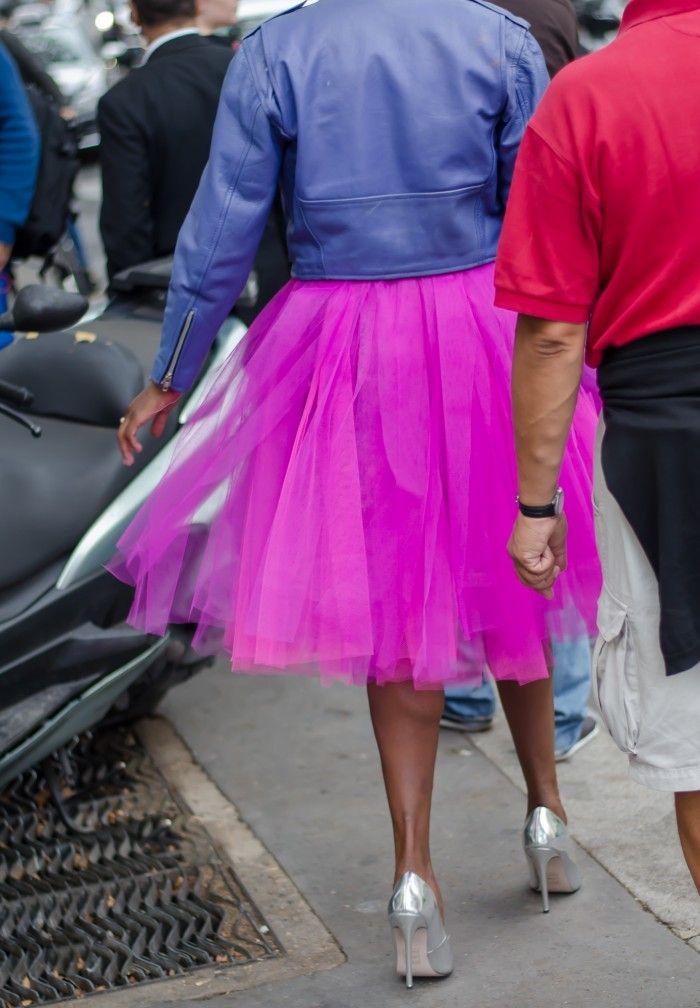 Tulle Skirts…..Not only for Ballerinas