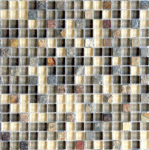Arizona Tempe Square Tile Mosaic Mosaic Glass Glass Mosaic