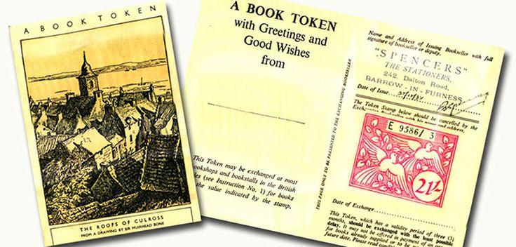 Book Token Designs: National Book Token 1938