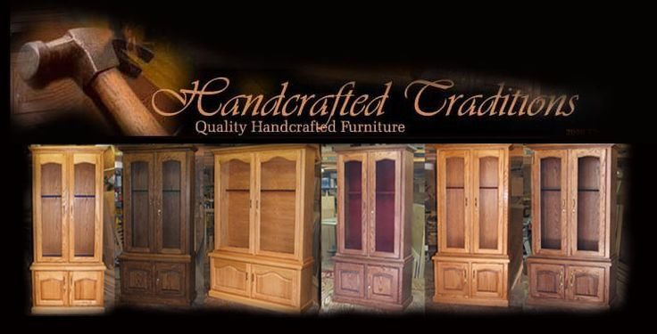 Long time customer and maker of beautiful handcrafted gun cabinets Handcrafted Traditions is worth taking a few minutes to check out!