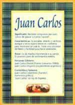 Nombre Juan Carlos
