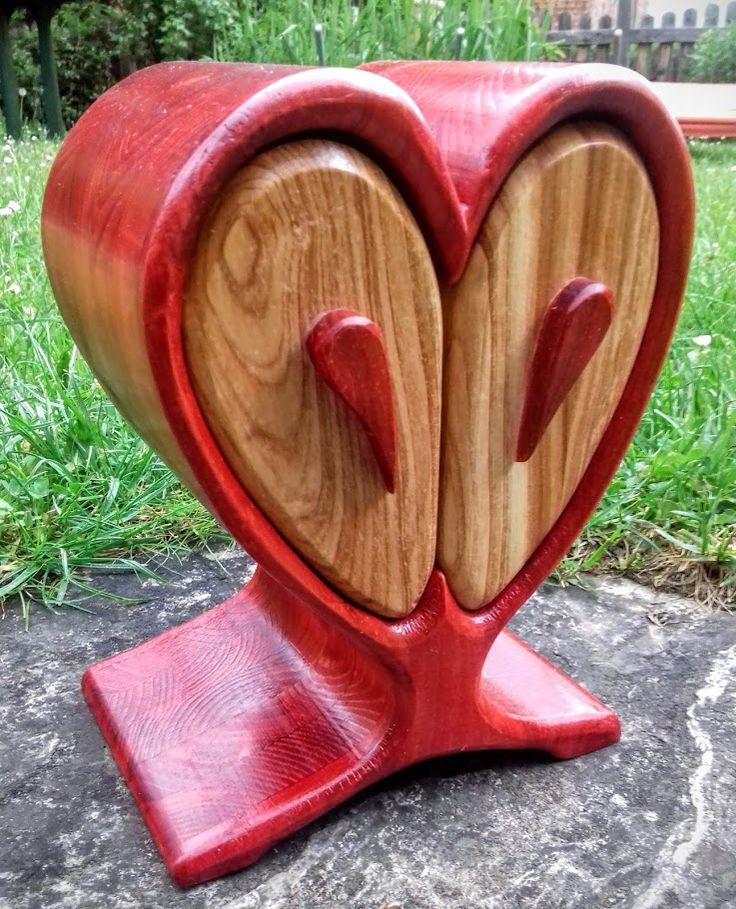 bands ge box schmuck box rot lasiert ge lt mit danish. Black Bedroom Furniture Sets. Home Design Ideas