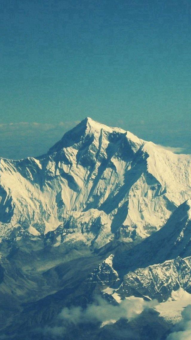 cloudy mountain phone wallpaper - photo #14