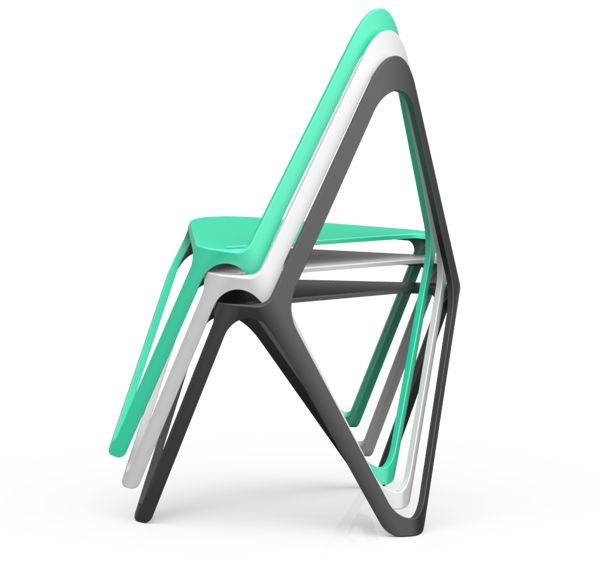 X-plus Structure-Chair on Behance