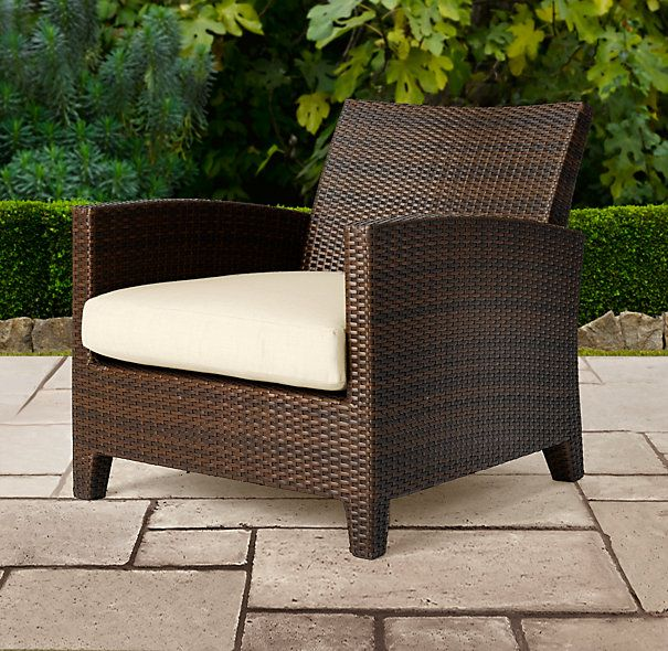 Restoration Hardware Ventana Lounge Chair Garden
