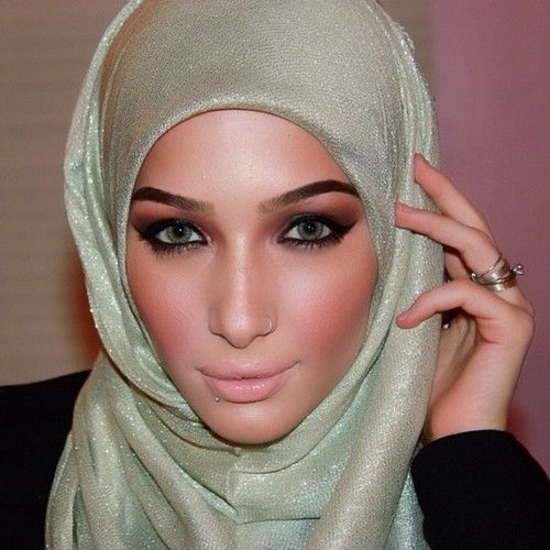 perfect make up for hijabers