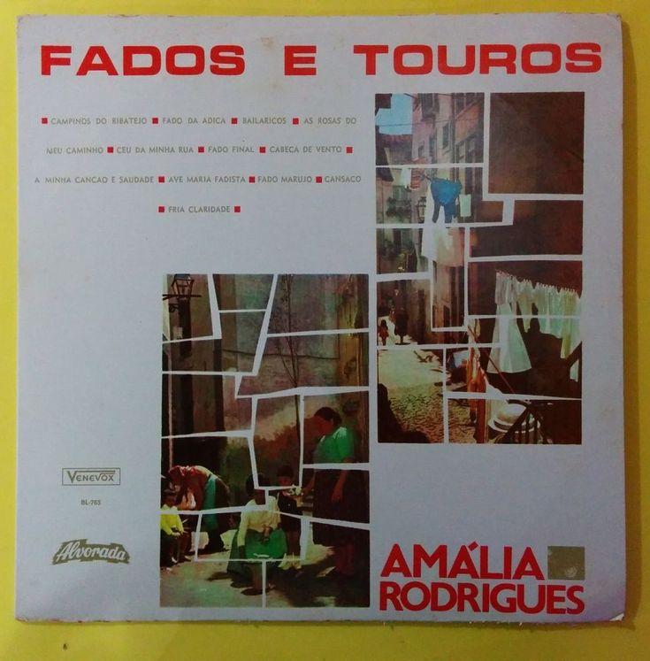 AMALIA RODRIGUEZ - FADOS E TOUROS - RARE EDITION VENEVOX - VENEZUELA ISSUE
