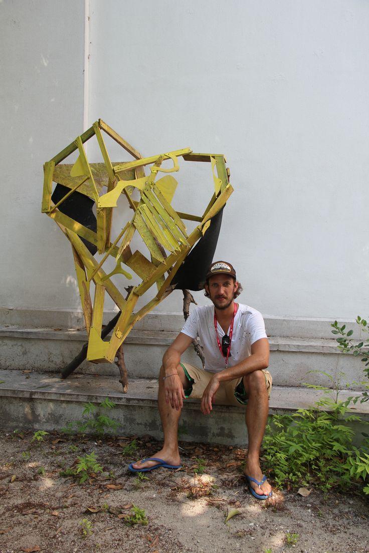 For Sarah with Love - Guerilla Installation at Giardini Biennale di Venezia 2015 - Hommage to Sarah Lucas