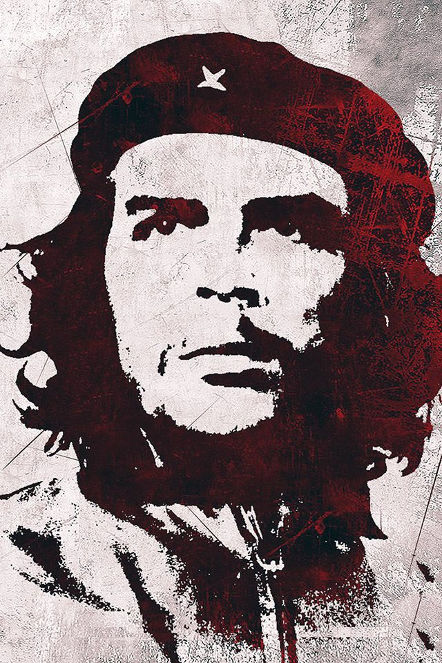 FREEIOS7 | che-guevara - parallax iphone wallpaper | FREEIOS7.COM