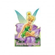 Tinkerbell Invitations (8pk) $9.50 A499599