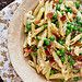 Bacon and Pea Macaroni & Cheese Recipe | Confections of a Foodie Bride