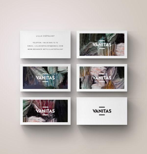 Vanitas Branding by András Berecz, via Behance