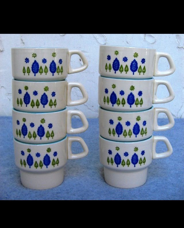 33 best images about mar crest swiss chalet pottery 1951 for Alpine cuisine coffee cups