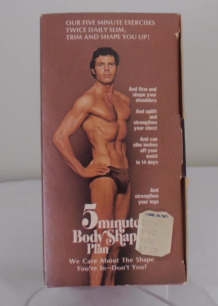 """Vintage Joe  Weider 5 """" off with 5 Minute Body Shaper Plan - Whole Gym in a Box #Weider"""