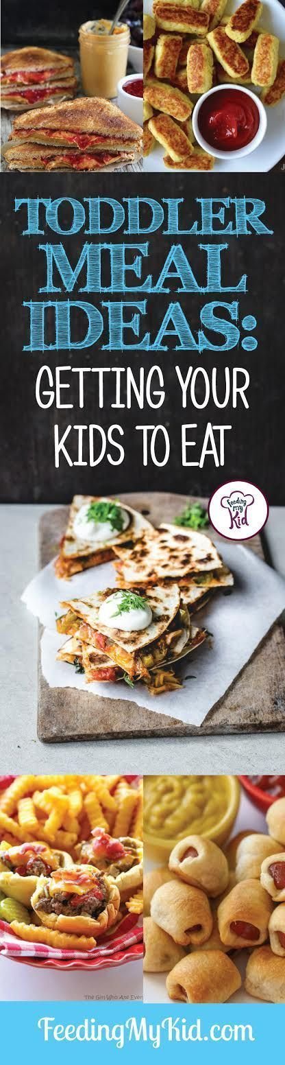 We put together this list of easy and tasty toddler meal ideas perfect for getting your little one to eat his meals on time.
